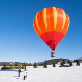 Balloon at Bowers Harbor by Traverse City Photographer Thomas Kachadurian
