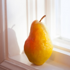 Pear by Traverse City Photographer Thomas Kachadurian