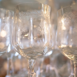 Wine Glasses by Traverse City Photographer Thomas Kachadurian