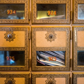 Mailboxes by Traverse City Photographer Thomas Kachadurian