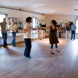Social Dance by Traverse City Photographer Thomas Kachadurian