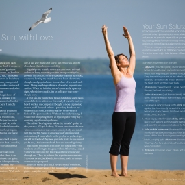 Sun Salutation by Traverse City Photographer Thomas Kachadurian
