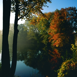 The Boardman River by Traverse City Photographer Thomas Kachadurian