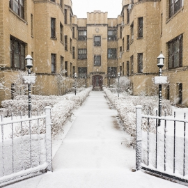 Chicago apartment building by Traverse City Photographer Thomas Kachadurian