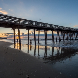 Ocean City Pier by Traverse City Photographer Thomas Kachadurian