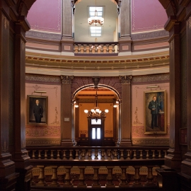 Michigan State Capitol Building by Traverse City Photographer Thomas Kachadurian