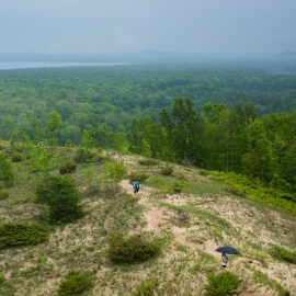 Pyramid Point by Traverse City Photographer Thomas Kachadurian