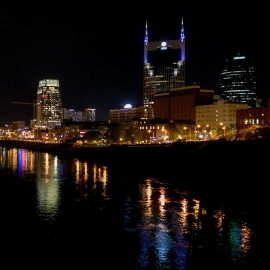 Downtown Nashville by Traverse City Photographer Thomas Kachadurian