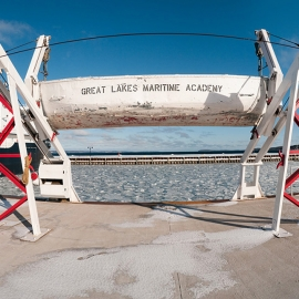 Lifeboats by Traverse City Photographer Thomas Kachadurian