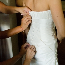 Bride Getting Ready by Traverse City Wedding Photographer Thomas Kachadurian