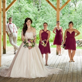 Wedding Party at Dunmaglas in Charlevoix by Traverse City Wedding Photographer Thomas Kachadurian