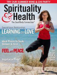 Spirituality & Health magazine designed by Thomas Kachadurian