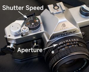 Shutter and Aperture dial example by Thomas Kachadurian
