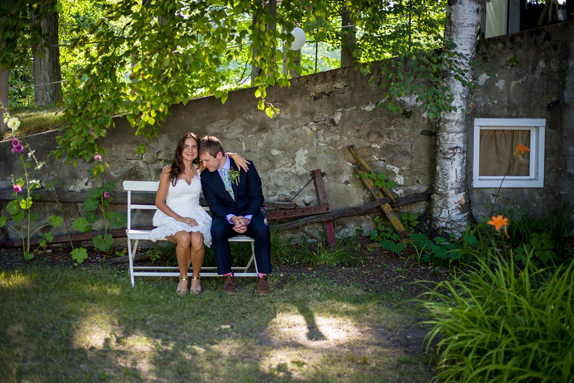 A Wedding at Cherry Basket Farm by Photographer Thomas Kachadurian