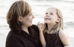Sophia and her Mom by Photographer Thomas Kachadurian