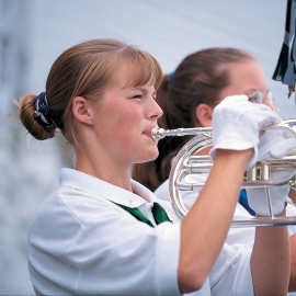 Girls Scouts by Traverse City Photographer Thomas Kachadurian