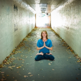 Yen Yoga by Traverse City Photographer Thomas Kachadurian
