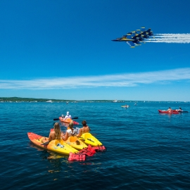 The Blue Angels by Traverse City Photographer Thomas Kachadurian