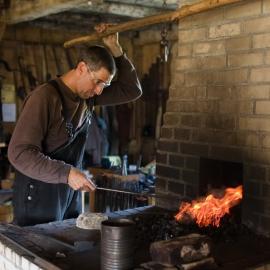 Blacksmith Shop by Traverse City Photographer Thomas Kachadurian