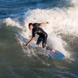 Cocoa Beach Surfers by Traverse City Photographer Thomas Kachadurian