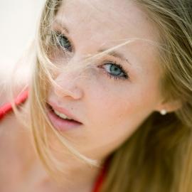 Beautiful Blonde by Traverse City Portrait Photographer Thomas Kachadurian