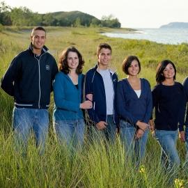 Family Portrait at Glen Haven by Traverse City Portrait Photographer Thomas Kachadurian