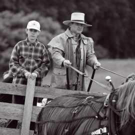 Cowboys by Traverse City Portrait Photographer Thomas Kachadurian