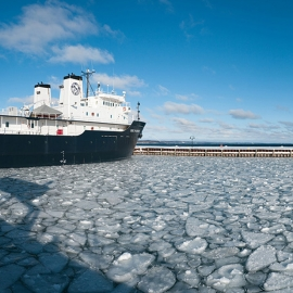 Great Lakes Maritime Academy by Traverse City Photographer Thomas Kachadurian