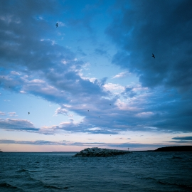 The Harbor inlet, Mackinac Island by Traverse City Photographer Thomas Kachadurian