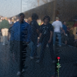 The Vietnam Memorial by Traverse City Photographer Thomas Kachadurian