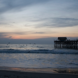 Cocoa Beach Pier by Traverse City Photographer Thomas Kachadurian