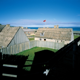 Fort Michilimackinac by Traverse City Photographer Thomas Kachadurian