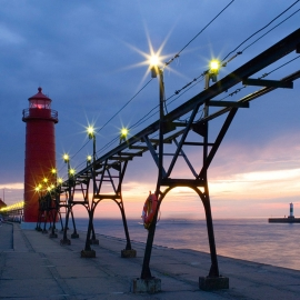 Grand Haven Michigan by Traverse City Photographer Thomas Kachadurian