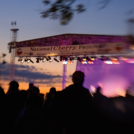 Cherry Festival by Traverse City Photographer Thomas Kachadurian
