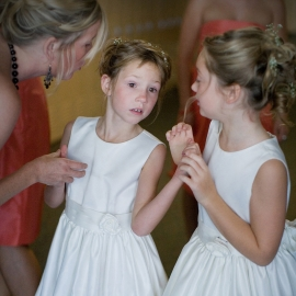 Flower Girls by Traverse City Wedding Photographer Thomas Kachadurian