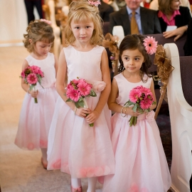 cute Flower girls by Traverse City Wedding Photographer Thomas Kachadurian