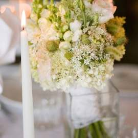 Wedding Centerpiece by Traverse City Wedding Photographer Thomas Kachadurian
