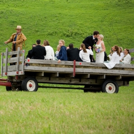 Wedding Hayride in Charlevoix by Traverse City Wedding Photographer Thomas Kachadurian