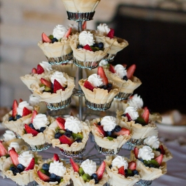A Wedding cake alternative at Crystal Down by Traverse City Wedding Photographer Thomas Kachadurian